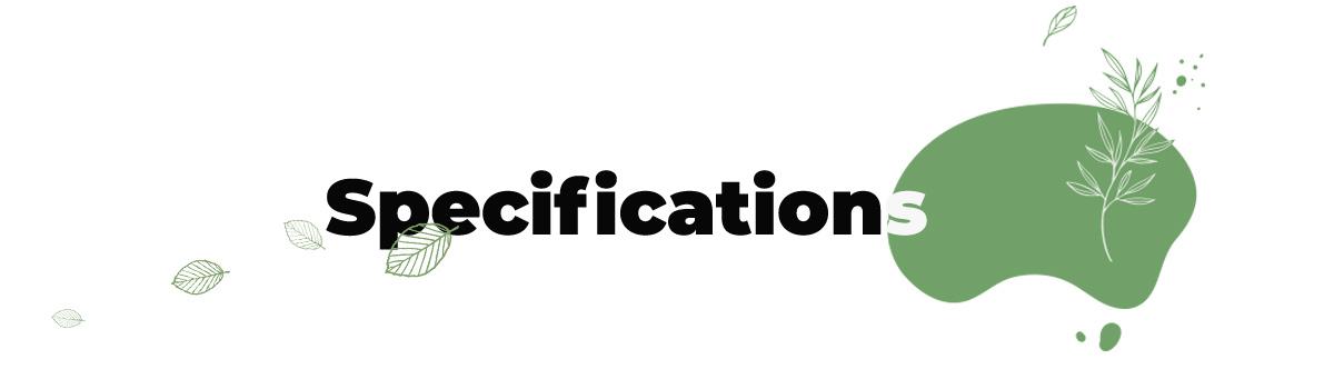Specifications-zooro
